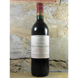 Chateau Haut-Bages Liberal 1990